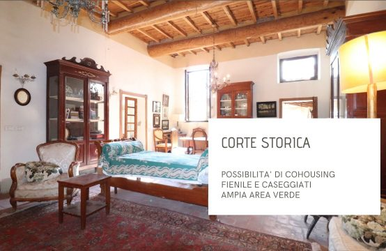 CORTE STORICA CON POSSIBILITA' DI CO-HOUSING